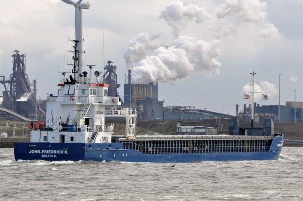 Droge lading schepen