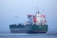 Thun Eos leaves home port Delfzijl