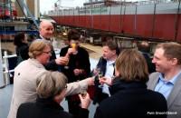 Christening and Launch mv Shetland