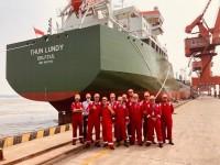 Vijfde, en tevens laatste L-Klasse Oil-Chemical tanker afgeleverd.