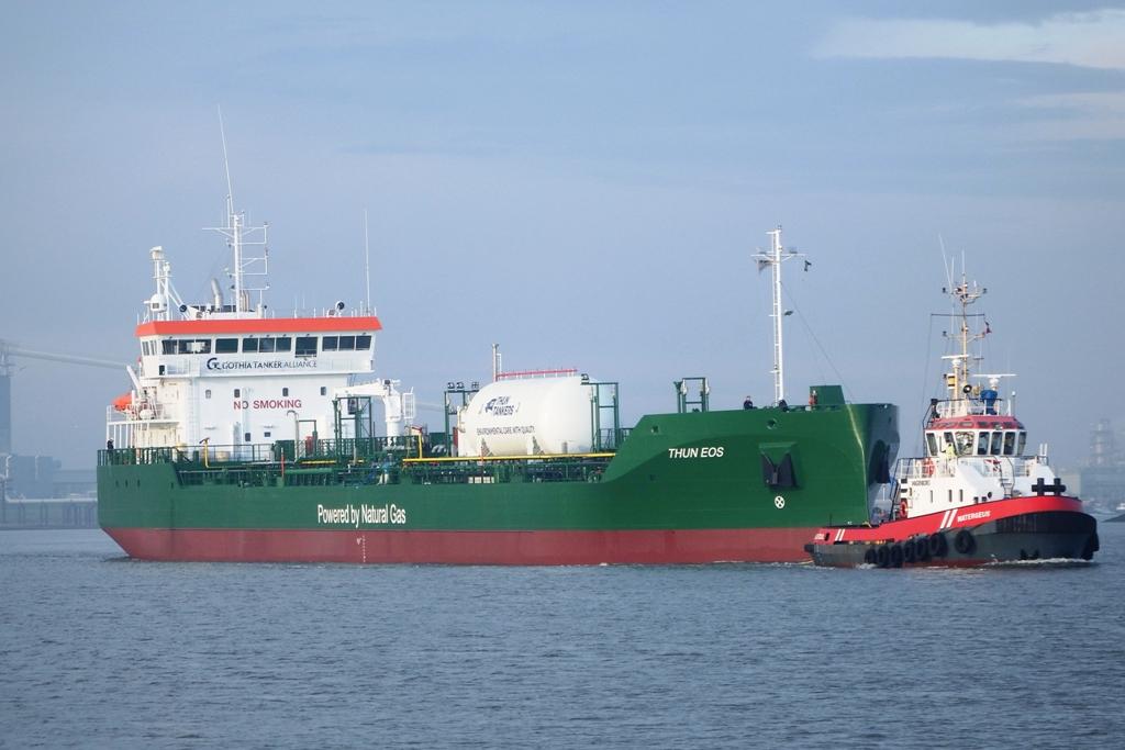 Thun Eos sea trial 1